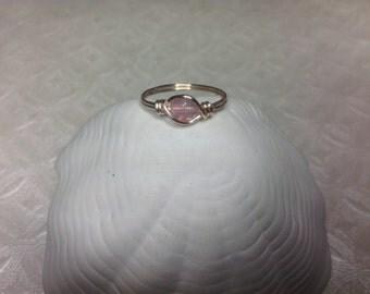 Bubblegum pink ring