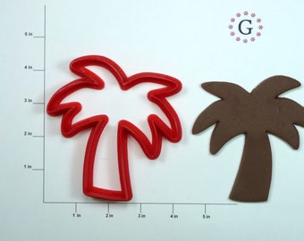 Palm Tree Cookie Cutter-3 Different Size Options
