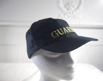 vintage black Guard hat