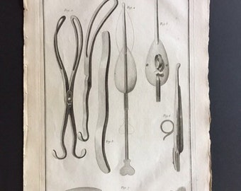 18th c copper plate engraving