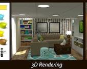 Hailey Living Room Online Design Package