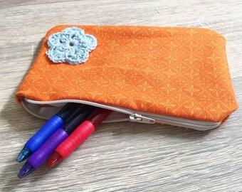 Handmade pencil case (pouch)