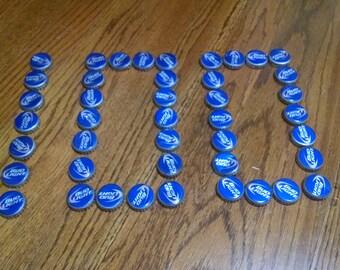 100 Bud Light Beer Caps
