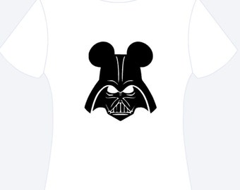Darth Vader Mickey Ears Personalized Shirt, Darth Vader Shirt, Personalized Shirt, Star Wars Shirt