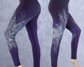 Bamboo Leggings -Réalta - Purple