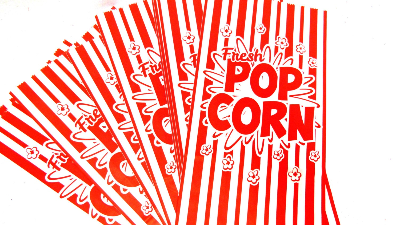 Popcorn Bar Bags for DIY Popcorn Bars Wedding Baby Shower Birthday ...