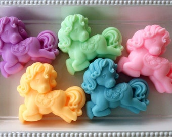 Pony Soap - Cowgirl Soap Favor, Little Pony Soap- Soap for Girls - Horse Soap