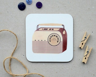 Bush Radio Coaster