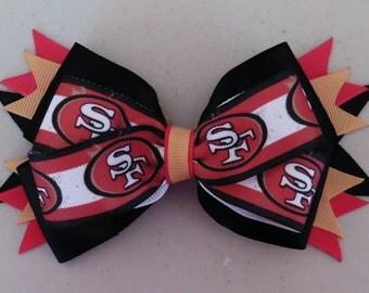 San Francisco 49ers NFL Bow