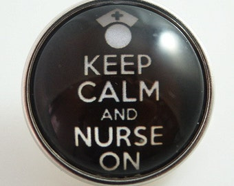 KB2539-N Art Glass Print Chunk - Nurse