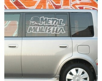 Metal Mulisha Decal AB07