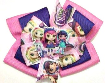 Little Charmers Hair Bow , Charming Hair Bow , Charmers , Stacked Hair Bow