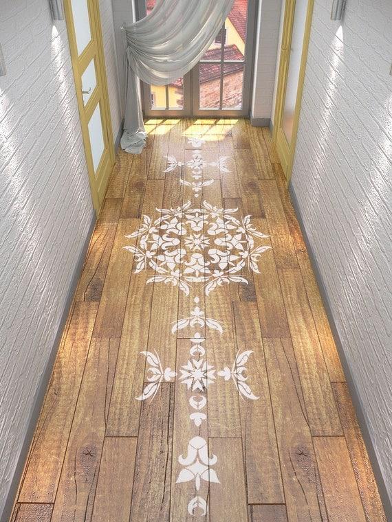 stencil pochoir mandala sym trique pochoir mandala de. Black Bedroom Furniture Sets. Home Design Ideas