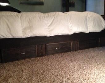 under bed drawer option