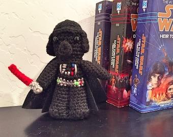 Darth Vader Crochet Doll - Darth Vader Plush - Star Wars Darth Vader Plush - Darth Vader Amigurumi