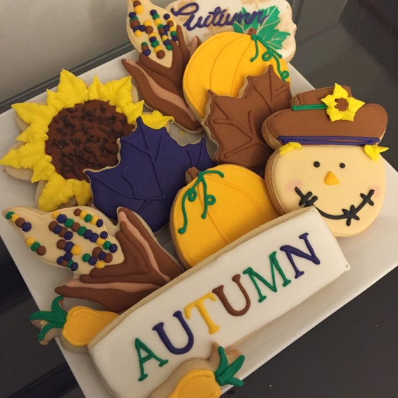 Fall Cookie Set