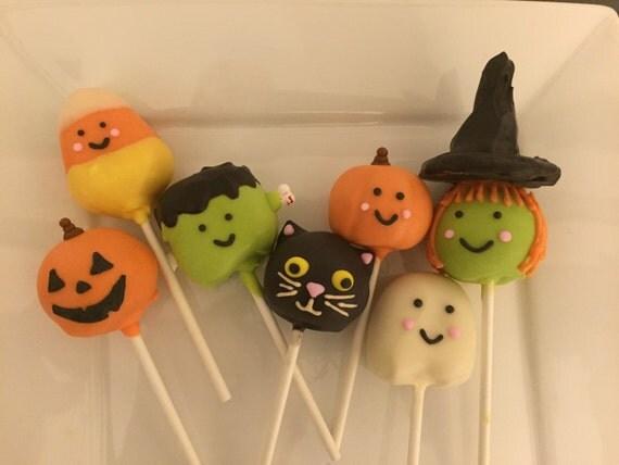 Halloween Themed Cake Pops