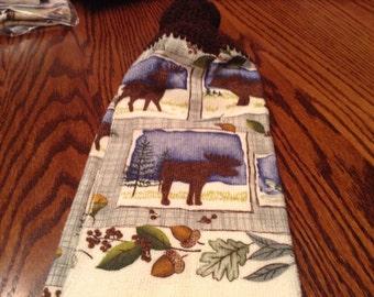 Crochet top towel #23
