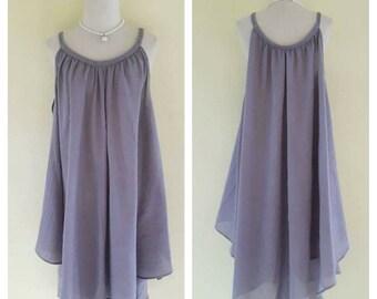 Dresses loose/light gray Dress/Casual/Summer Dresses/Plus Size XS - 5XXL