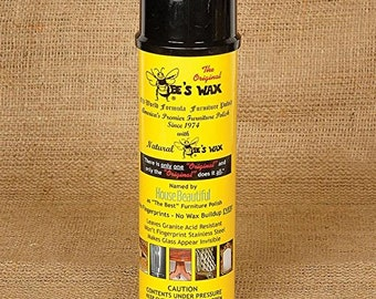 The Original Beeswax Furniture Polish- All Natural Spray 17 Oz. Can
