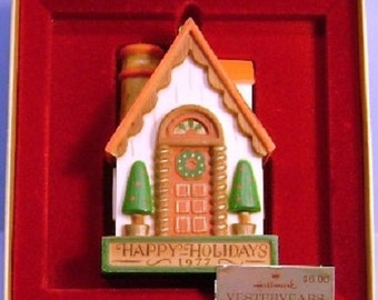 1977 Yesteryears House Hallmark Tree Trimmers Collection Ornament