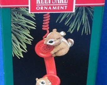 1992 Friendship Line Hallmark Retired Ornament