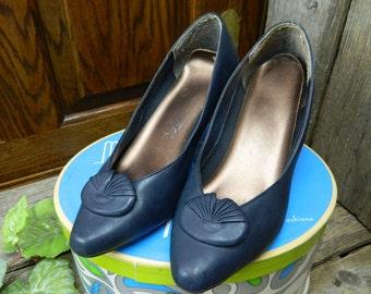 Vintage Mid Century Women's LifeStride Pumps Shoes - Annette
