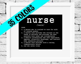 Nurse Quote, Nurse Print, Nursing Quote, Nursing Print, Nursing Student, Nurse Grad Gift, Quotes for Nurses