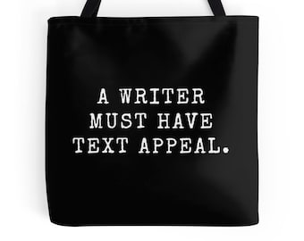 Little Book of Muses, Writer Tote, Write Tote, Writer Print, Writing Print, Writing Tote, Writer Gift, Writing Quote, Writing Definition