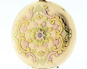 POCKET WATCH by ROCKFORD gold filled multi color 1889