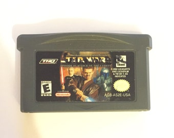 STAR WARS Episode 2: Attack of the clones Nintendo Gameboy Advance Game GBA