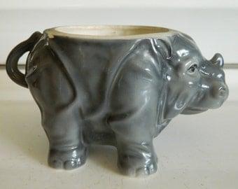 Rhino planter / rhinoceros planter