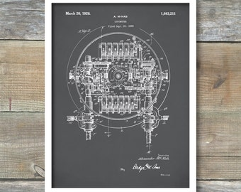 Patent Print, Logometer 1928, Patent Poster, Nautical Decor, Wall Décor, Locometer Blueprint, Locometer Patent Art, P292