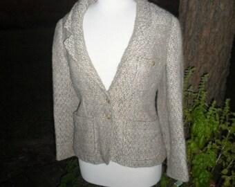 1970's Wool Blazer Size 6 by Bill Atkinson