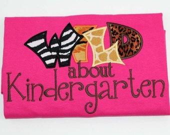 Wild about Kindergarten Teachers Shirt