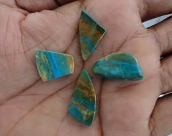 Opalina lot of 5 Piece, 30ct Wholesale Lot, Natural Gemstone Cabochons AG-708