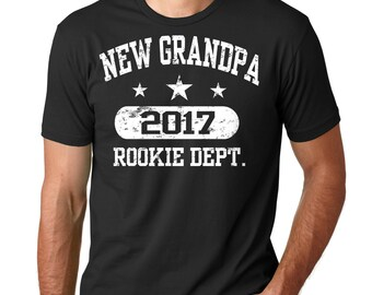 Grandpa T-Shirt New Grandpa 2017 Tee Shirt Gift For Grandfather