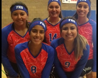 Competition Team Headbands!  Perfect for Dance, Cheer, Gymnastics, Softball, Vollyeball, Tennis, Compettion Teams, College, Beach, Summer