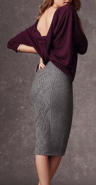 Women S Hand Knitted Skirt Maxi Dress Sweater Coat Aran