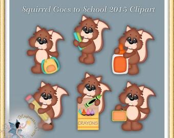 School Goes to School Clipart