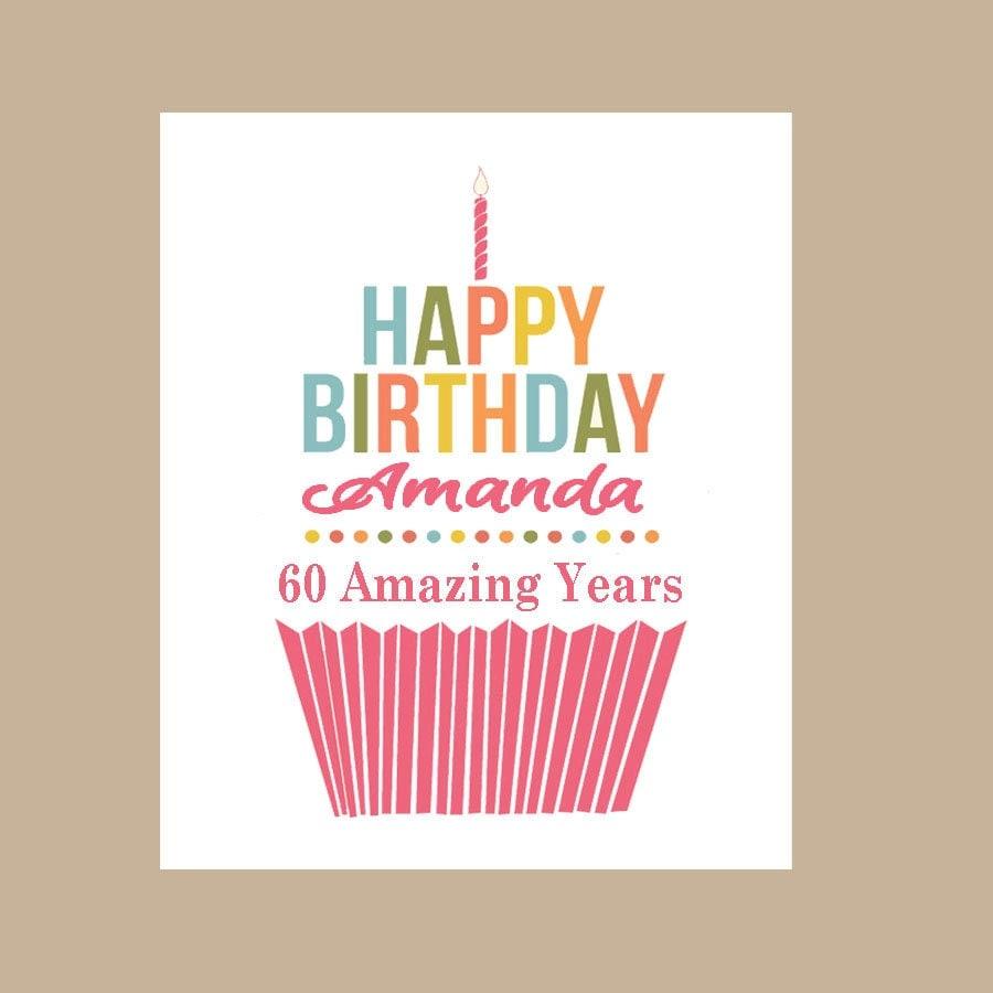 birthday card personalized birthday carddaizybluedesigns