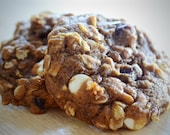 Pumpkin Oatmeal White Chocolate Craisin Cookies