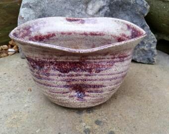 Red Belly Vase
