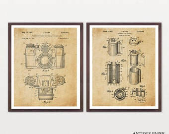 Film Photography Art - Photography Poster - Photography Patent - Photography Art - Photo Patent - Film Canister - Film Camera - Camera Art