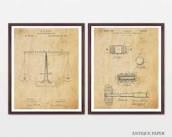 Law Patent - Lawyer Patent - Lawyer Art - Gavel Patent - Scales of Justice - Judge Patent - Court Patent - Lawyer Poster - Law Student Art