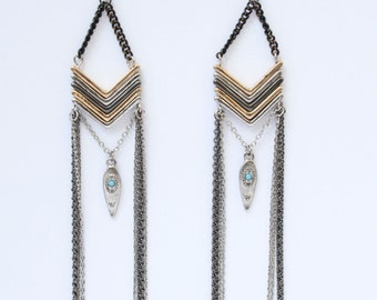 Boho Chic Native American Earrings