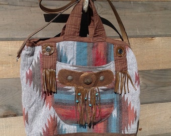 Western Style Tote Bag