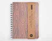 Planner 2016 September - 2017 September. Weekly Life Calendar Diary Day Agenda Journal A5 Wood Rustic Kalender Calendrier - Dated or Undated