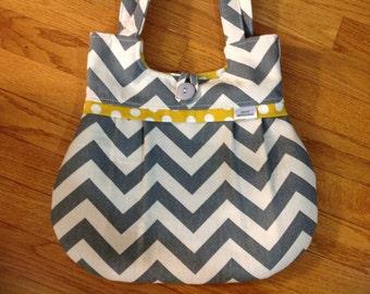 SALE!   chevron purse, purse, chevron. bag, grey chevron, mustard, women purse, shoulder bag, handbag, mustard purse,