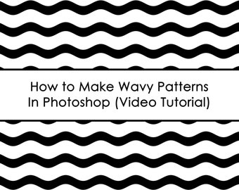 How to make wavy patterns in photoshop ecourse AllAboutTheHouse how to make paper overlays to use for printables fabric home decor etc.